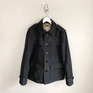 Mens Burberry Brit Wool Jacket